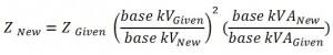 Alternator base unit impedance change